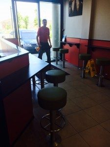 Fast food fit out Ireland