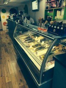 Ice cream display ireland
