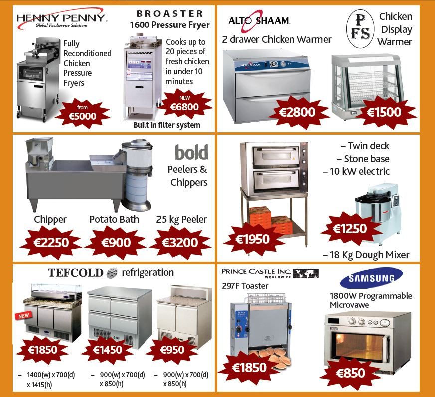 new and used catering equipment Ireland