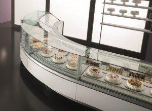ice cream parlour cabinet