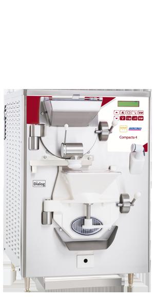 Compacta gelato making combination machine